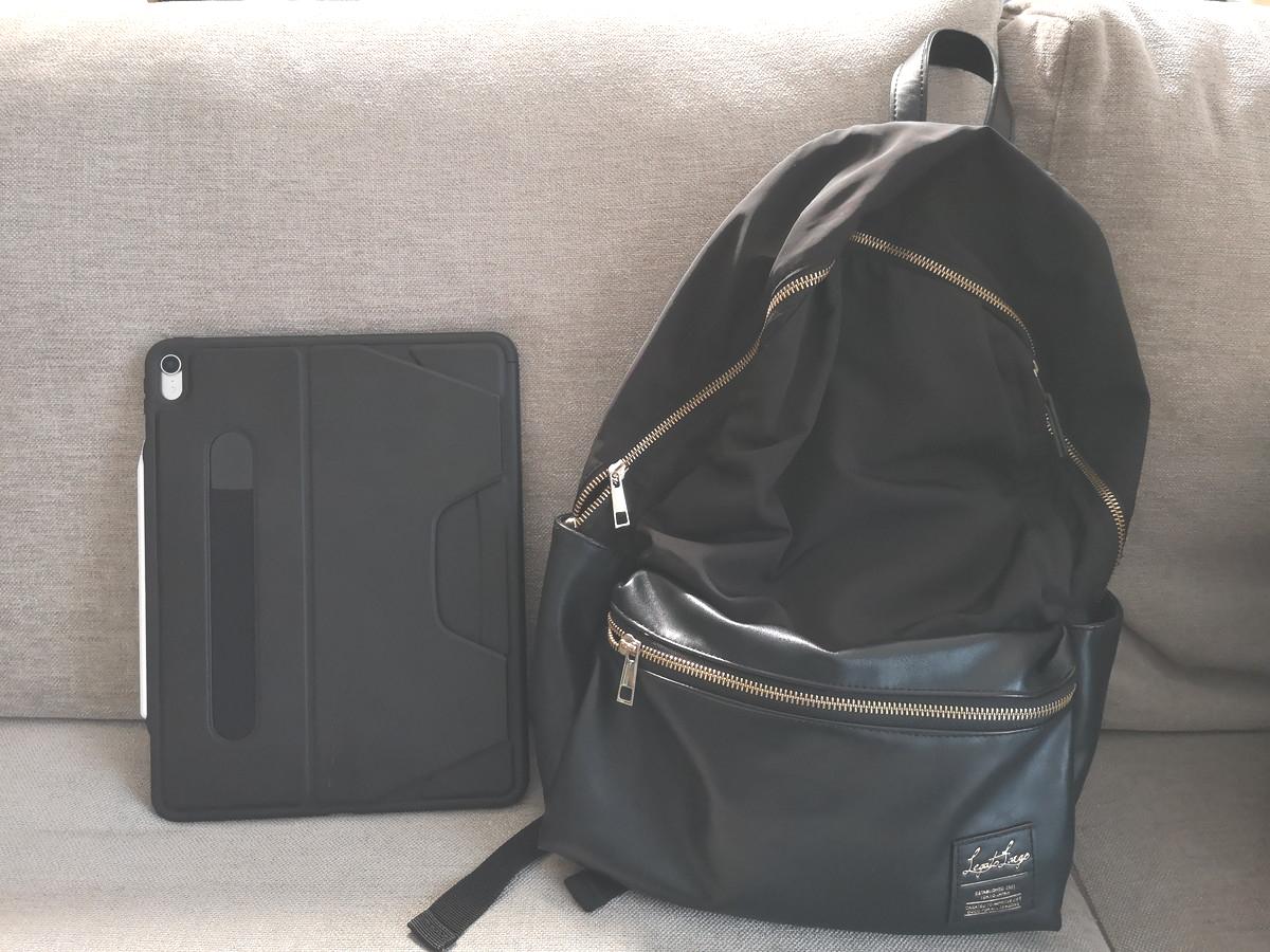 iPad Pro12.9インチと鞄